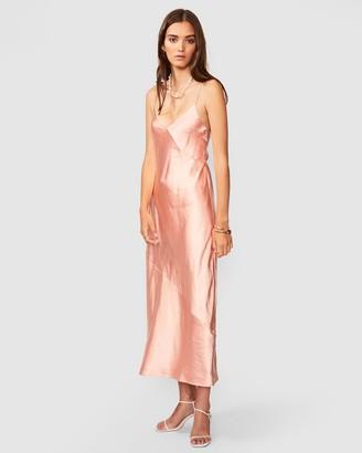 SUBOO Jean Tie Slip Dress