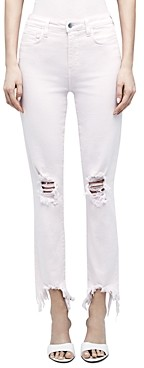L'Agence High Line High Rise Skinny Jeans in Blossom