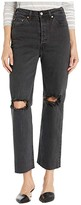 Levi's Womens Womens Ribcage Straight Ankle (Cabo Nights) Women's Jeans