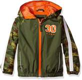 iXtreme Little Boys Camo Spring Windbreaker Jacket with Mest Lining