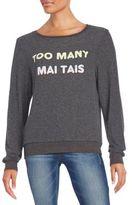 Wildfox Couture Too Many Mai Tais BBJ Sweatshirt