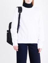 Calvin Klein Patch appliqué cotton-jersey sweatshirt