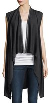 Elie Tahari Benny Chain-Trimmed Sweater Vest