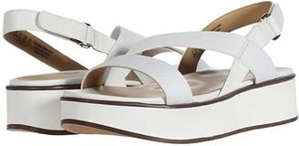 Naturalizer Charlize (Black Smooth) Women's Sandals
