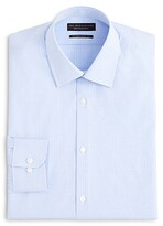 Bloomingdale's The Men's Store At The Men's Store at Textured Micro Grid Check Dress Shirt - Regular Fit - 100% Exclusive