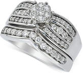 Macy's Diamond Bridal Set (7/8 ct. t.w.) in 14k White Gold