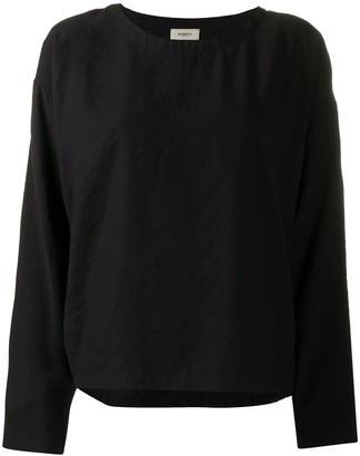 Barena Dropped Shoulder Long-Sleeved Top
