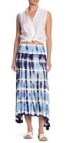 BOHO ME Tie-Dye Strapless Knit Dress