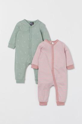 H&M 2-Pack Cotton Pyjamas