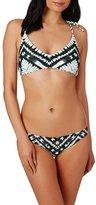 Rusty Shibori Racer Bikini Top