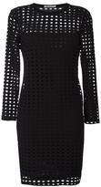 Alexander Wang circular hole dress - women - Polyester/Spandex/Elastane/Rayon - M