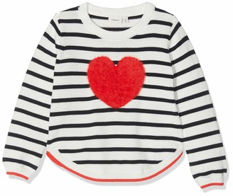 Name It Baby Girls' Nmfluvifa Ls Knit Box Jumper