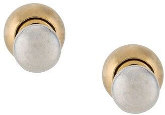Bottega Veneta Double-Sided Ball Stud Earrings