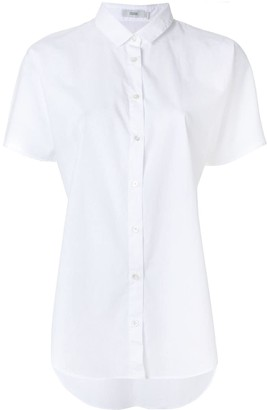 Closed Shortsleeved Button Shirt