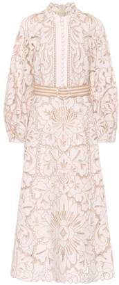 Zimmermann Edie linen and cotton dress