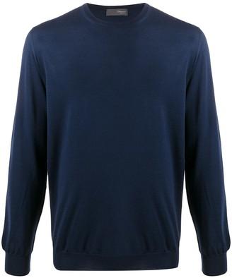 Drumohr Crew-Neck Lightweight Sweater