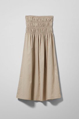 Weekday Maxim Skirt - Beige