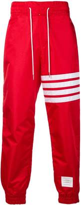 Thom Browne 4-Bar Relaxed Fit Track Pants