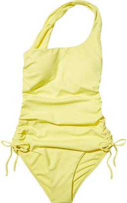 Melissa Odabash Polynesia One-shoulder Ruched Swimsuit