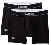 Lacoste Solid Boxer Brief - Pack of 2