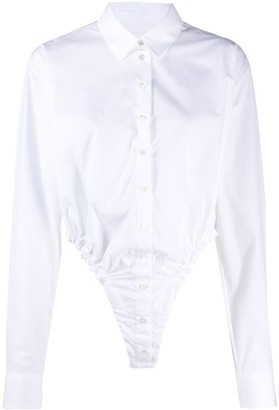 Y/Project Cut-Out Button-Up Shirt