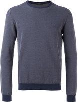 Zanone crew neck jumper - men - Cotton - 50