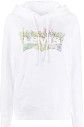 Levi's Cactus Logo Print Hoodie