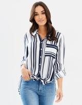 DECJUBA Sorrento Stripe Shirt