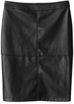 School Rag Plain Short Straight Skirt