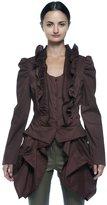 Rogue Finery Women's Plus Steampunk Aristocrat Victorian Shirtwaist Bustle Tailcoat Blouse (1XL, )