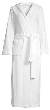 Hanro Women's Terry Long Hooded Robe