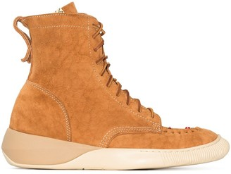 Visvim High-Top Lace-Up Sneakers