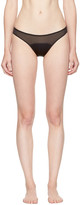 Stella McCartney Black Cherie Sneezing Bikini Briefs