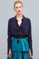 Sachin + Babi Gabrielle blouse - Sapphire