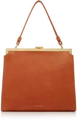 Mansur Gavriel Elegant Leather Top Handle Bag