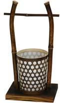 """Oriental Furniture 16"""" Japanese Rice Bucket Lantern(B)"""