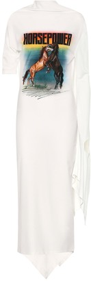 Christopher Kane Horsepower asymmetrical dress