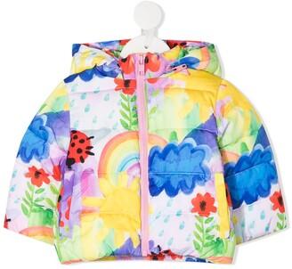 Stella McCartney Kids Multi-Print Padded Jacket