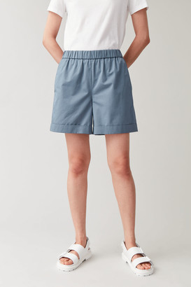 Cos Shorts With Elastic Waist