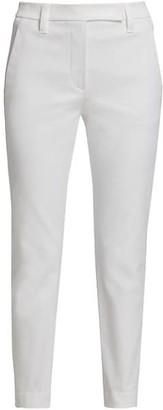 Brunello Cucinelli Cotton Cover Stretch Skinny Pants