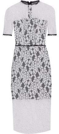 Alexis Cutout Corded Lace Dress
