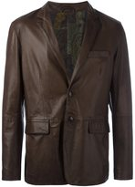 Etro printed lining blazer jacket