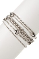 Lois Hill Sterling Silver Mixed Chain Bracelet