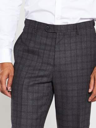 Skopes Agden Suit Trousers - Charcoal Check