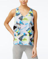 Jessica Simpson The Warm Up Juniors' Printed Tank Top, Only at Macy's
