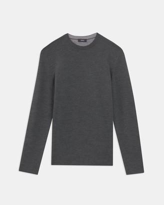Theory Crewneck Sweater in Merino Wool