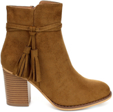 Refresh Tan Concord Bootie