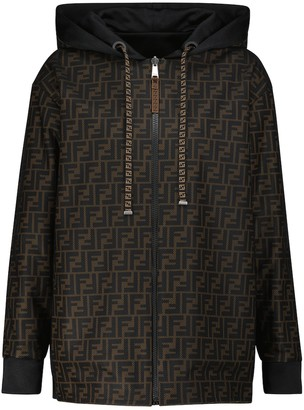 Fendi FF reversible track jacket