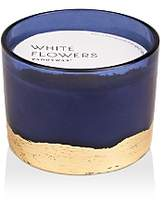 Paddywax Gilt Blue White Flowers Candle