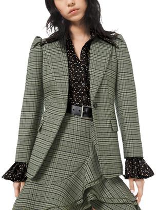 Michael Kors Wool-Blend Blazer